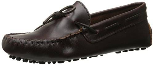 Minnetonka Classicdriver, Mocasines Para Mujer, Marrón (Dusty Brown), 37 EU