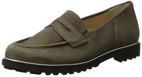 HassiaAsti, Weite G - Mocasines Mujer , color gris, talla 38