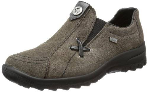 RiekerL7171 - Mocasines Mujer , color Gris, talla 37