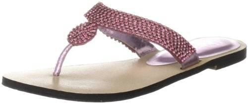 Unze Evening Sandals L18579W - Sandalias para mujer, color rosa, talla 39