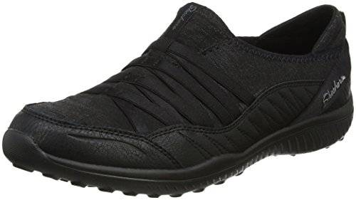 Skechers Light-On The Groove, Zapatillas Para Mujer, Negro (Black), 36.5 EU