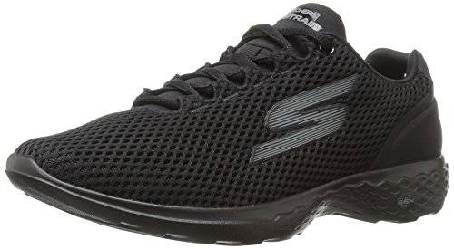 Skechers Performance Go Train-Hype, Zapatillas de Entrenamiento para Mujer, Negro (Black), 39 EU
