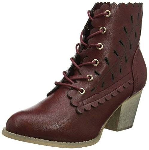 Joe Browns 5th Avenue Ankle Boots, Botines Para Mujer, Rojo (Dark Red), 38 EU