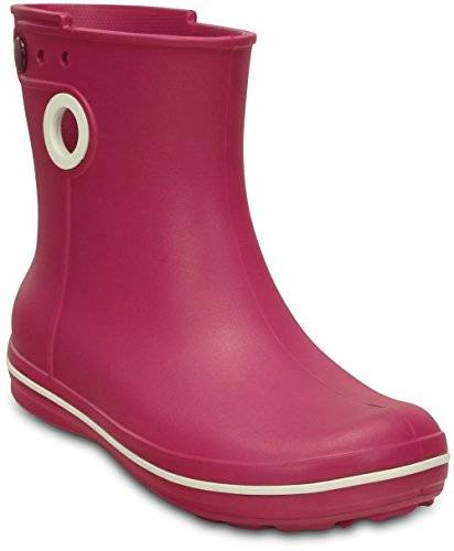 Crocs Jaunt Shorty Boot Women, Mujer Bota, Rosa (Berry), 36-37 EU