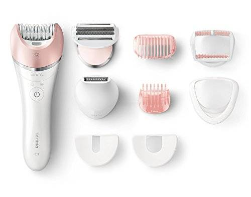 Philips Satinelle Advanced Wet and Dry BRE640/00 - Depiladora