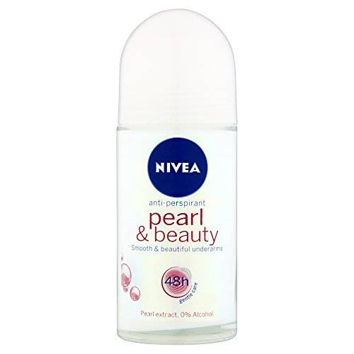 Nivea - Pearl and beauty, 48 hours anti - perspirant, pack de 6 (6x 50 ml)