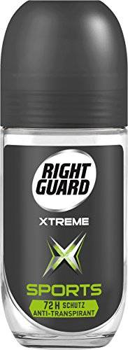 Right Guard Deo Roll-on deportivo, Paquete 6er (6 x 50 ml)