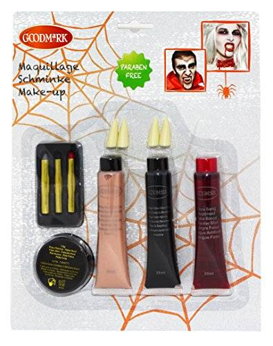 GOODMARK good Mark sangre Makeup Set, 1er Pack (1 x 9 unidades)