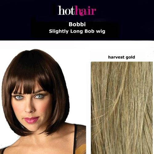 Hothair Hot Hair - Bobbi - Plaza peluca longitud media - Trigo de Oro