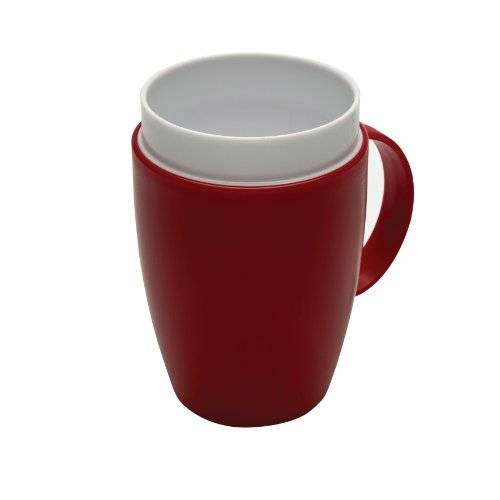 Patterson Medical Vital - Taza, color rojo