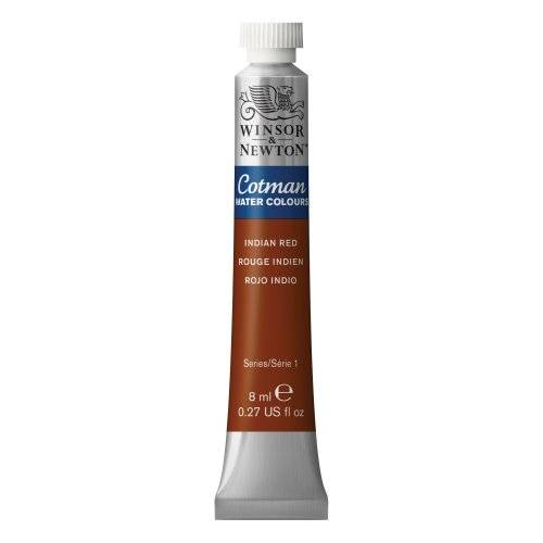 Reeves Acquarello Cotman vernice 8ml/Tube-Indian Red