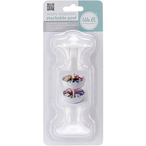 We R Memory Keepers We R - Dispensador de cinta adhesiva apilable, 11,4 cm, multicolor