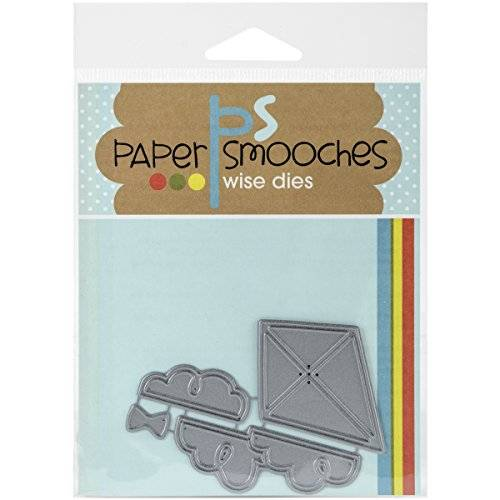 Paper Smooches Papel Smooches metal die-kite