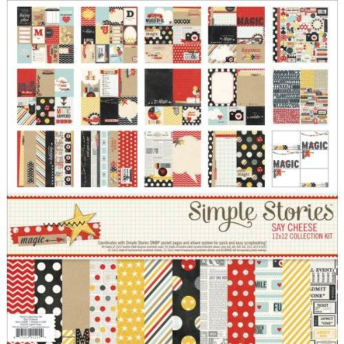 Simple Stories Say Cheese Collection Kit 12