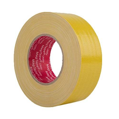 MagTape CTMAGUT50Y - Cinta adhesiva (50 mm x 50 m), color amarillo