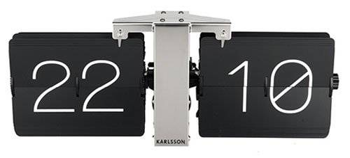 Karlsson ka5601bk no Case reloj de pared Metal Negro 8.5 x 36 x 14 cm