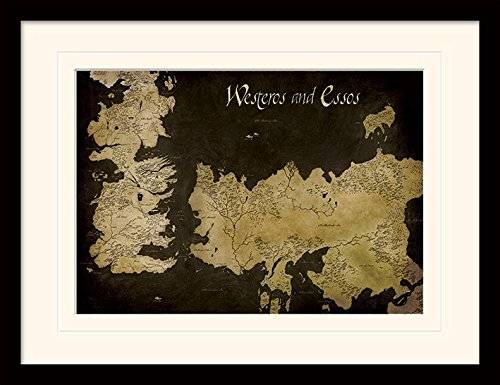 Game Of Thrones 30 x 40 cm de Juego de Tronos