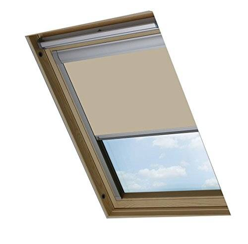 Bloc Skylight Blind Bloc Skylight 7 (78/140) - Estor para ventanas de techo Fakro, opaco, color crema