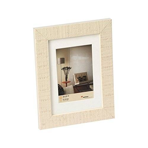 Walther, Home, Marco De Madera, HO318W, 13x18 cm, Blanco