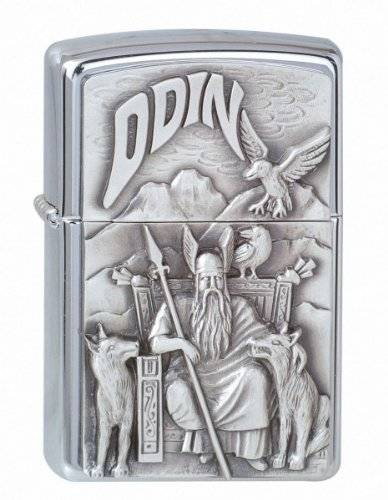 Zippo 1300097 Nr. 200 Viking Odin - Mechero con relieve
