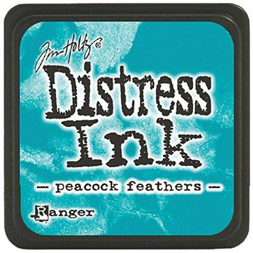 Ranger Tim Holtz Distress Mini Ink Pads-Peacock Feathers
