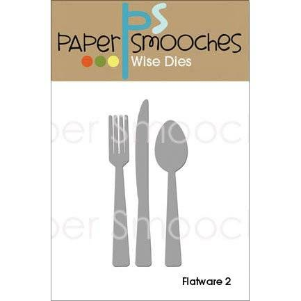 Paper Smooches Papel Smooches metal die-flatware 2