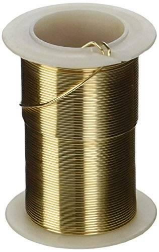 Darice 20 Gauge Beading Wire 15 Yards-Gold Colored Copper Wire