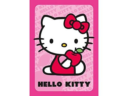 Associated Weavers Hello Kitty 13 - Alfombra, color rosa