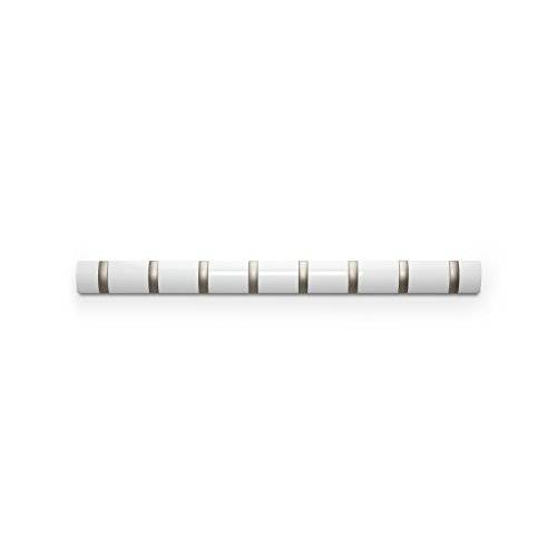 Umbra 318858-660 Percha de pared Flip 8 Blanco