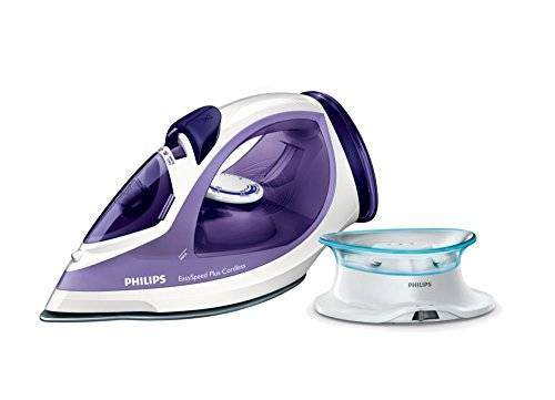 Philips GC2088/30 - Plancha de vapor, 2400 W, blanco y purpura