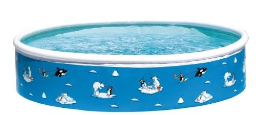 Friedola 12811 - Piscina inflable, color azul