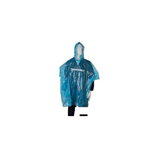 Silverline Tools Silverline 613749 - Poncho impermeable, color azul