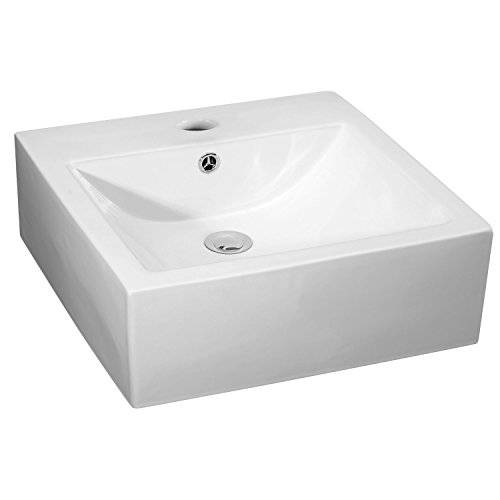 Premier nbv102 470 mm 1TH rectangular recipiente – blanco