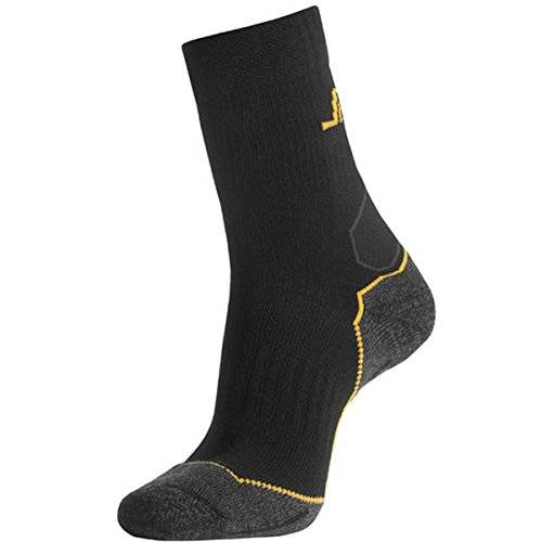 Snickers wooltech - Calcetines wooltech negro-gris talla 37-39