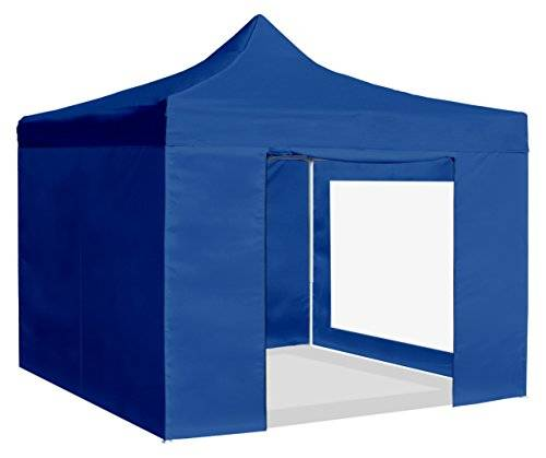 Greencut CAR-PLE 3X3 A - Carpa plegable para jardín, color azul