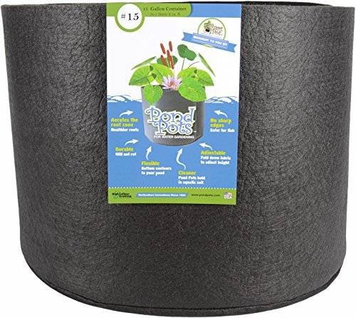 Smart Pots PondFlexible Aquatic Plant Container for Water Gardening