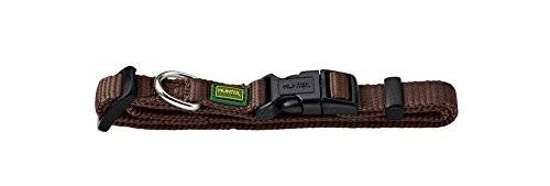 Hunter 42802 - Collar para perros vario-s básicos, 30-45 cm, nylon, marrón