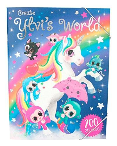 Desconocido Ylvis World para colorear libro Unicorn