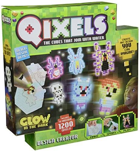 QIXELS Glow-in-The Dark Design Creator Toy by Qixels