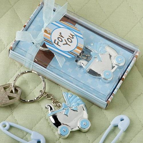 FASHIONCRAFT Blue Baby Carriage Design Key Chains.., 26 by Fashioncraft