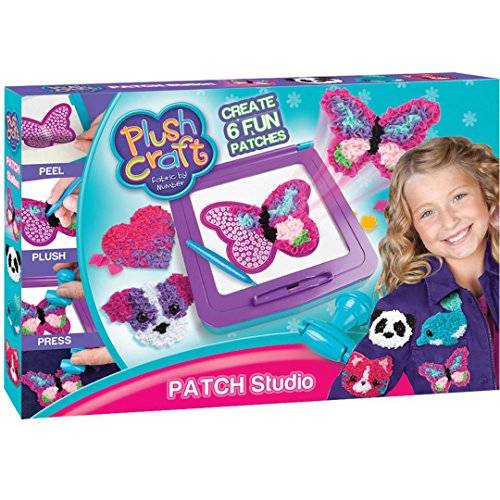 ORB Factory 621436 – Plush Craft Patch Station Pegatinas, peluche