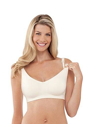 Bravado-Bra for pregnancy and lactation, without ivory stitching Size: Gr. L