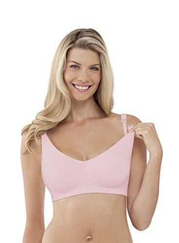 Bravado-Bra for pregnancy and lactation, seamless Pink Ice Size: Gr. L