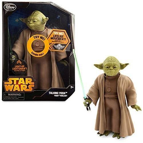Disney Official Disney Star Wars 26cm Talking Interactive Moving Yoda Doll by Disney