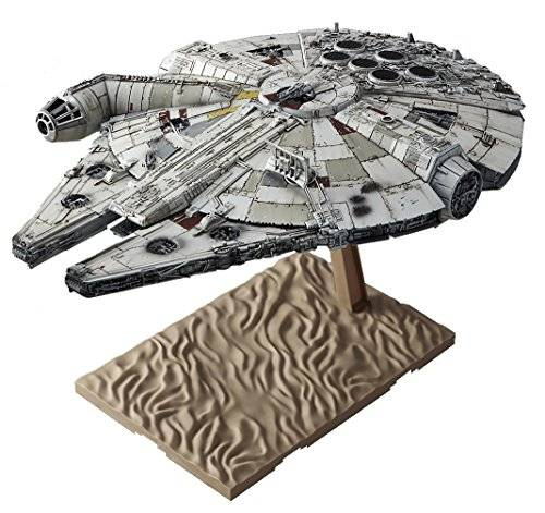 Bandai Star Wars Millennium Falcon (awakening of Force) 1/144 scale plastic model