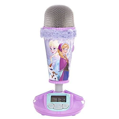 Disney - Frozen, Microphone Alarm Clock, color rosa (Worlds Apart 272FRN)