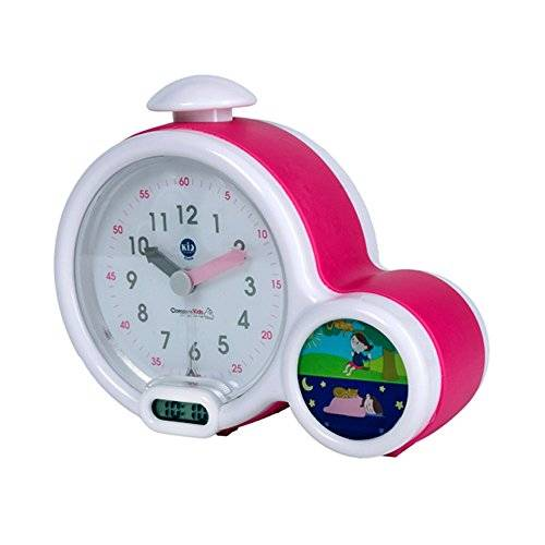 Claessens Kids Claessens 'Kids ksmfacp Kid 'sleep Clock, mi primer Despertador, color rosa