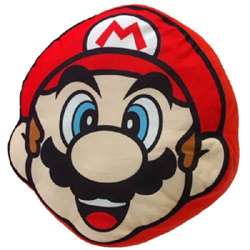 Nintendo - Cojín de peluche Mario Bros (Together Plus SATOGMBCUM-01)