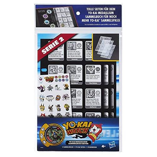 Hasbro Yo-Kai Watch Collection Book Pages 3-Pack 2016 Series 1 Case (12) - German Version Hasbro Action toys