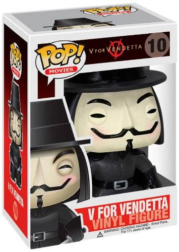 FunKo [Import Anglais]V for Vendetta Movie Pop Vinyl Figure